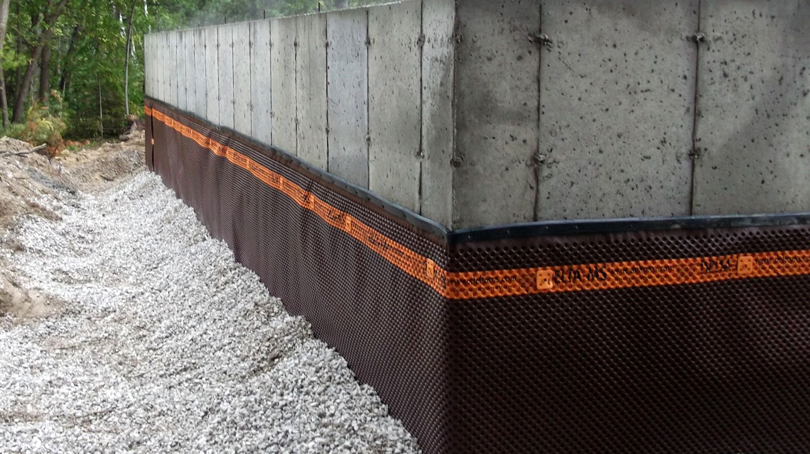 Mcnabb Construction Weeping Tile Systems Grey Bruce